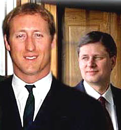 New Conservative leader Stephen Harper  has selected Peter MacKay as the new  deputy leader of the party.
