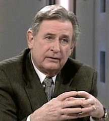 Alberta Premier Ralph Klein discusses mad cows and rednecks