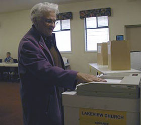 Advance polls registered 1,485 votes ahead of Saturday's election. (Photo: Rachael Kimola - Castanet)