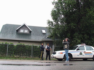 Police managed to plant listening devices in this Hells Angels clubhouse in Kelowna. (Photo: Kelly Hayes)