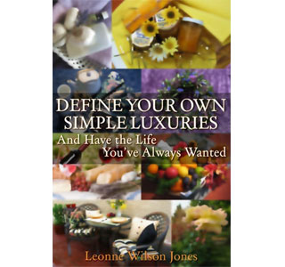 Define Your Own Simple Luxuries is now available at local bookstores throughout the Okanagan.  (Photo: Contributed)