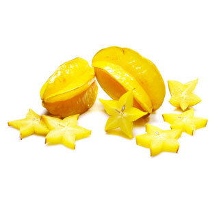 Also known as carambola, star fruit is a berry.  (Photo: Contributed)