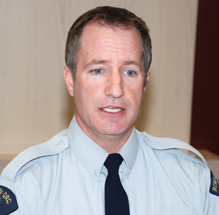 Cst. Steve Holmes says seniors have once again been targeted for an over-the-phone scam. (File photo - Kelly Hayes)