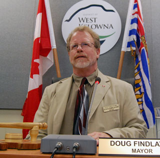 West Kelowna Mayor Doug Findlater. (File Photo: Wayne Moore - Castanet)