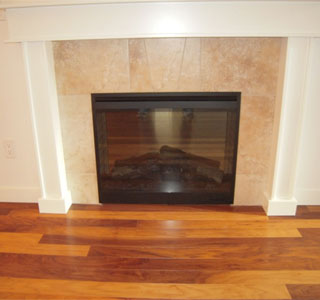 cleaning glass fireplace doors about the house
