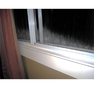 Window frost forms when a pane of glass is exposed to below-freezing temperatures on the outside and moist air on the inside.  (Photo: Contributed)