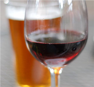 Are we a nation of wino's or suds drinkers?  (Photo: Flickr user, riebschlager)