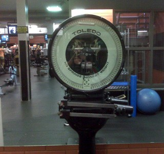 As a measurement of fitness, the scale can be very demotivating!  (Photo: Contributed)