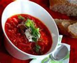 Beet and Cabbage Borscht.  (Photo: Contributed)