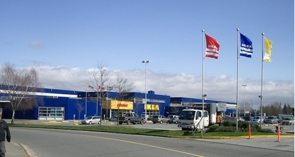Ikea richmond bc for Ikea portland directions