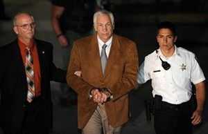 Jerry Sandusky convicted of 45 countsl