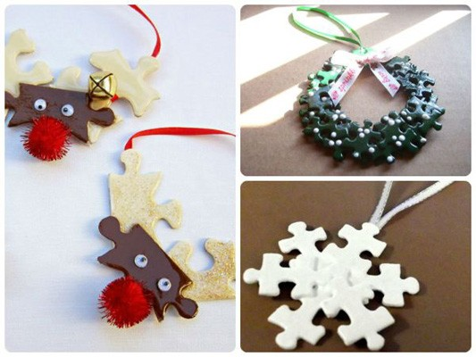 Fun Recycled Christmas Tree Ornaments Reduce Reuse