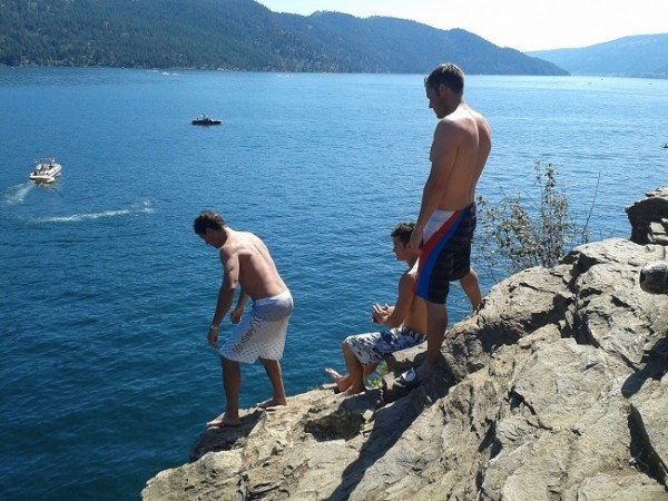 Image result for Lake Whitney High high high high cliff Jumping Spots