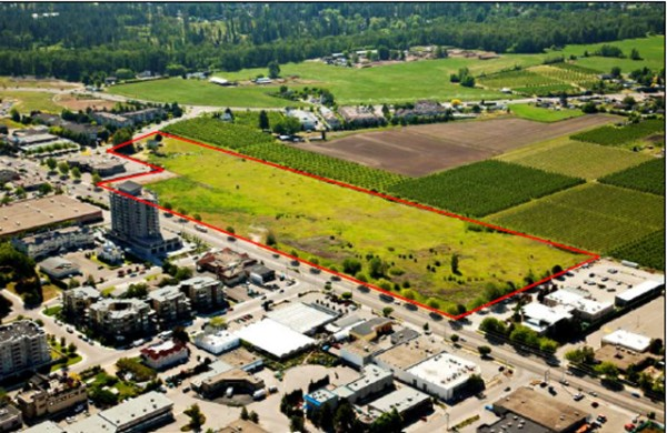 Castanet • Development proposal for empty land on