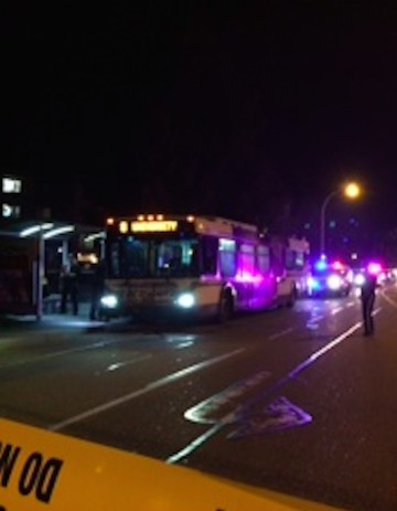 One person is dead after a stabbing on a city bus Thursday evening.