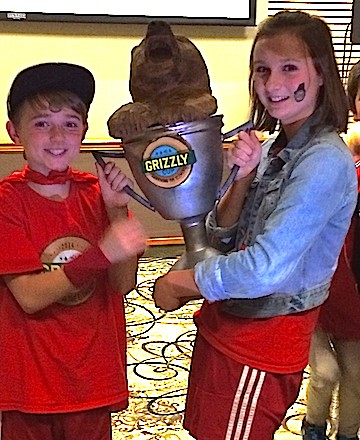 Kelowna kids Mia an Tobin Woodworth reigned supreme in a recent Disney TV kids reality competition, bringing the Grizzly Cup home to the Okanagan.