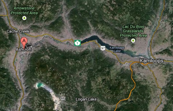 how to get to the states from vernon bc