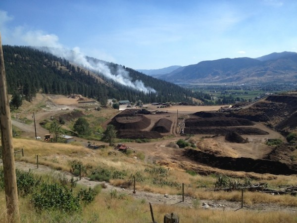 campbell mountain fire update penticton news. Black Bedroom Furniture Sets. Home Design Ideas