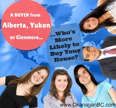 Where are Kelowna buyers coming from?