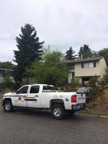 A man is hospital with serious injuries after he was assaulted late Tuesday night in Kelowna.