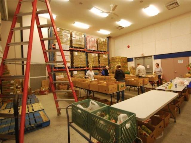 Salvation Army Food Bank Kelowna