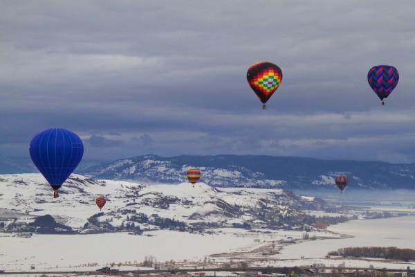 Balloon Fiesta fills Vernon sky - Vernon News - Castanet.net