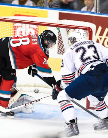 A late powerplay brought the Kelowna Rockets close, but not close enough, in their third game of the Memorial Cup.