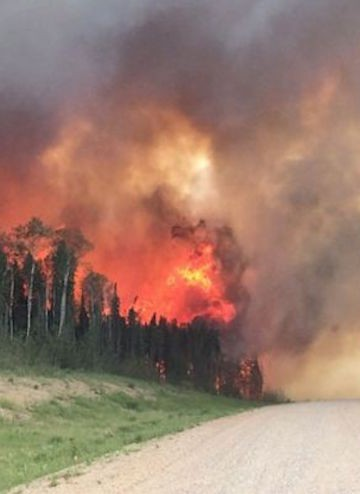 Saskatchewan Premier Brad Wall says the province's firefighting budget has been depleted.