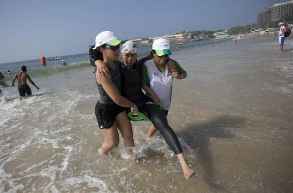 Athletes Swim In Filth Sports