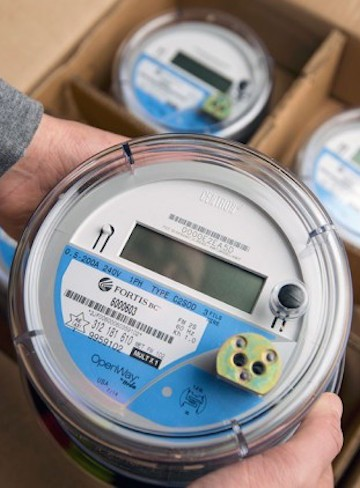 A handful of FortisBC customers have chosen to be without power after refusing to select a smart meter.