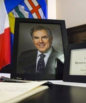 A state memorial service will be held in Calgary today for former Alberta premier Jim Prentice.