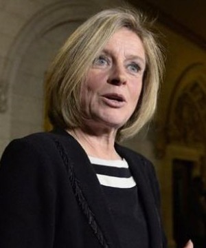 A spokeswoman for Rachel Notley says the Alberta premier will visit British Columbia today.