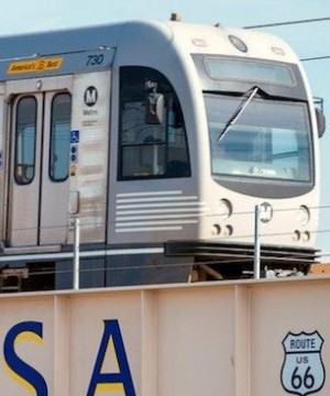 The threat of a terror attack against a busy commuter rail station in the Los Angeles area has prompted authorities to increase security throughout the region.