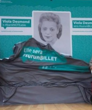Viola Desmond will be the first woman to be celebrated on the face of a Canadian banknote.
