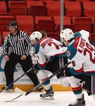 The Rockets dominated the final 25 minutes of Friday's game, eking out a 3-2 overtime win over the Tri-City Americans.