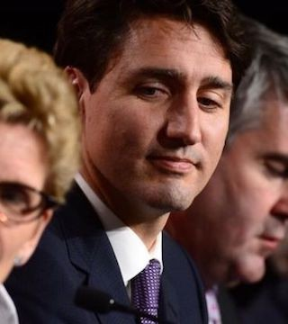 Trudeau won the agreement of eight provinces and all three territories for a pan-Canadian framework on climate change.