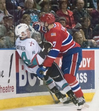 Kelowna Rockets fall 6-3 to the visiting Spokane Chiefs.