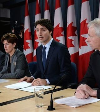 Canadian jets to end their fight in Iraq and Syria within two weeks, prime minister announces.