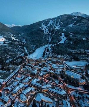 Whistler Blackcomb resort is having a strong ski season and is on track to have a record number of visits.