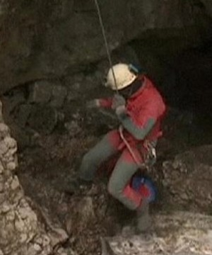 French authorities rescued seven Spanish spelunkers who had been trapped overnight in a cave in the Pyrenees region.