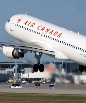 Air Canada reported a profit of $101 million in its latest quarter compared with a loss a year ago.