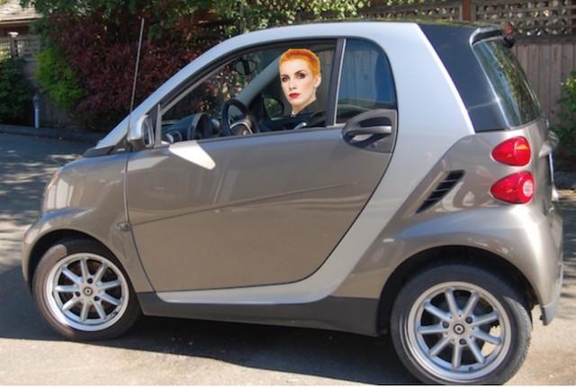 Sex in a smart car