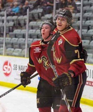 The West Kelowna Warriors let one slip away at the Western Canada Cup in Estevan, Sask.