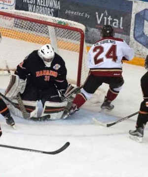The West Kelowna Warriors got back into the win column Tuesday afternoon at the Western Canada Cup.