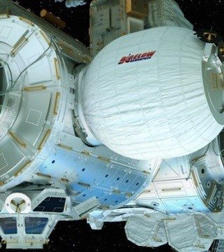NASA is trying once more to inflate a new experimental room at the International Space Station.