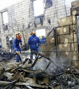 Seventeen killed in Ukraine seniors home fire.