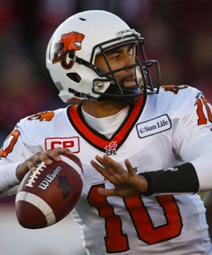Jonathon Jennings is fast becoming the unlikely face of the B.C. Lions.