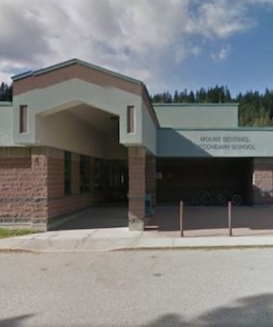 A �serious threat� forced the emergency evacuation of Mt. Sentinel Secondary School in South Slocan Friday afternoon.