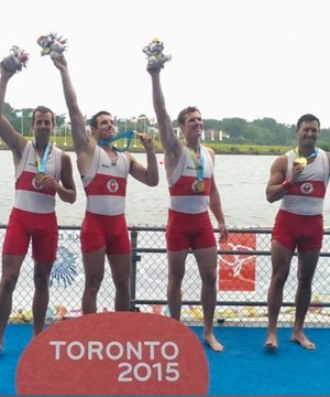 Kelowna's Will Dean will compete for Canada in men's quadruple sculls at the Olympics in Rio.