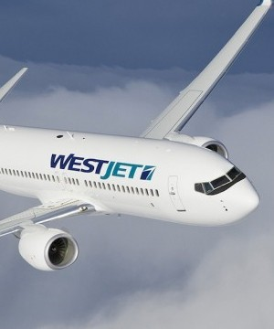WestJet Airlines says its second quarter profit is down 40 per cent from last year but revenue held steady.
